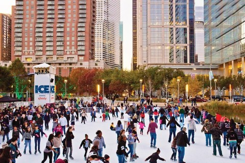 About the ICE at Discovery Green